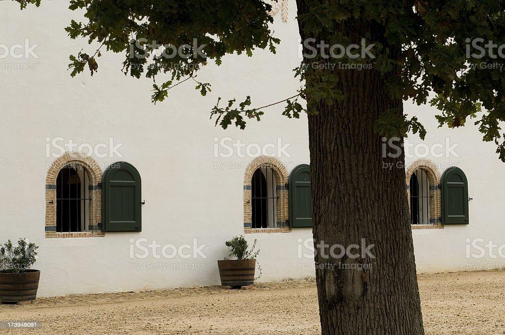 Groot Constantia Museum stock photo