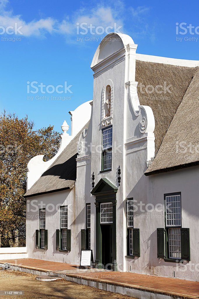 Groot Constantia royalty-free stock photo