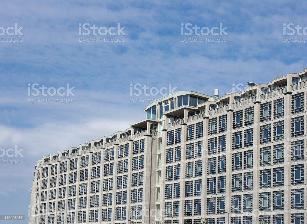 Groothandels gebouw Rotterdam stock photo