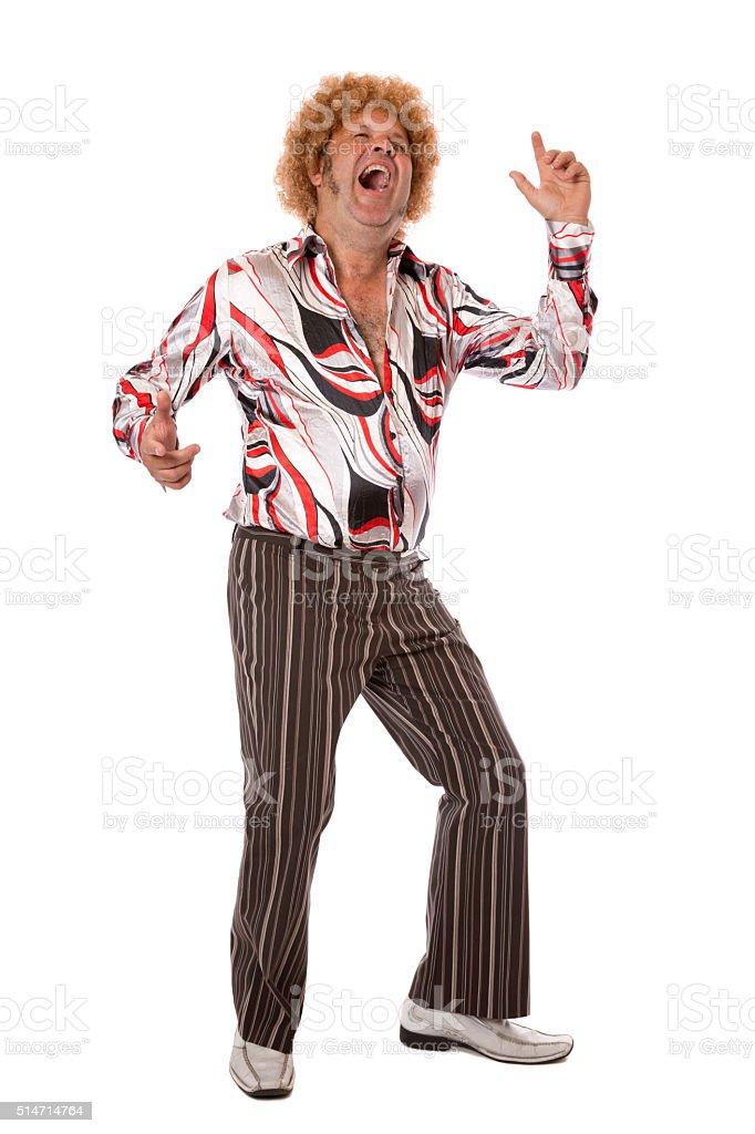 Groovy Dancing stock photo