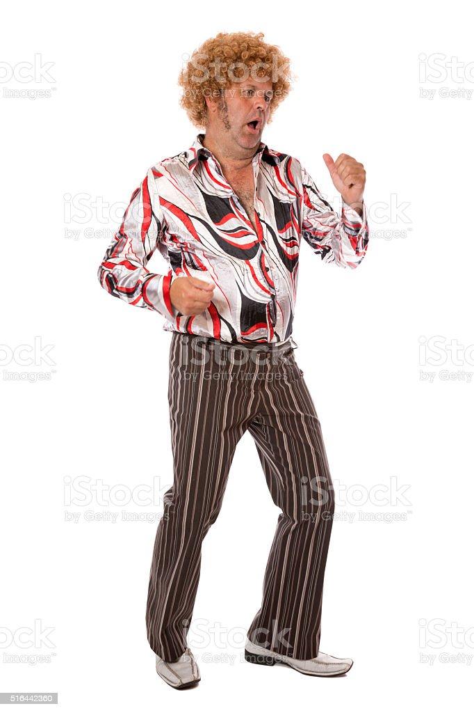 Groovy Disco Dancing stock photo