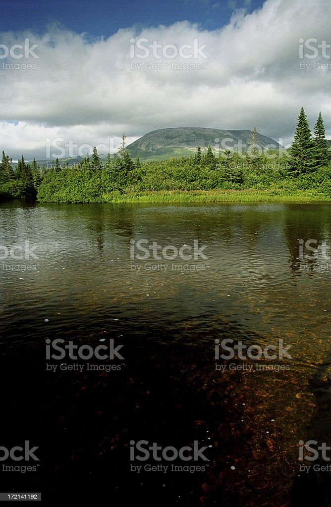 Gros Morne Mountain, Newfoundland royalty-free stock photo