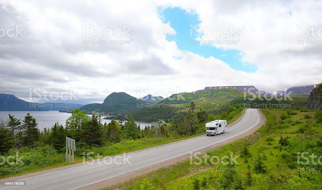 Gros Morne National Park, Newfoundland, Canada stock photo