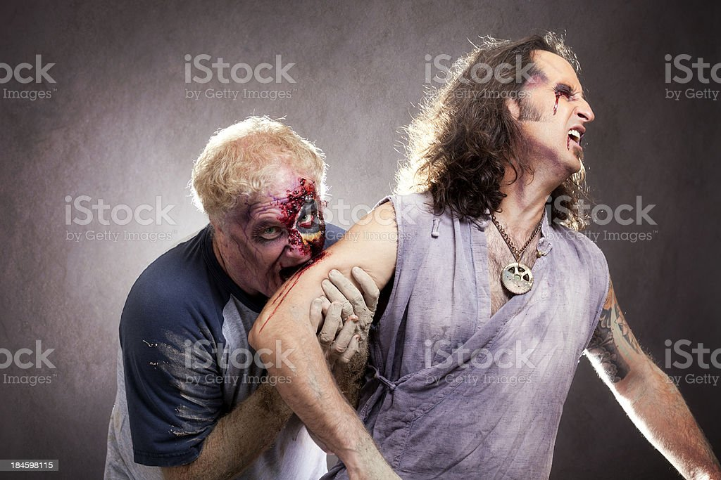 Gross Zombie stock photo