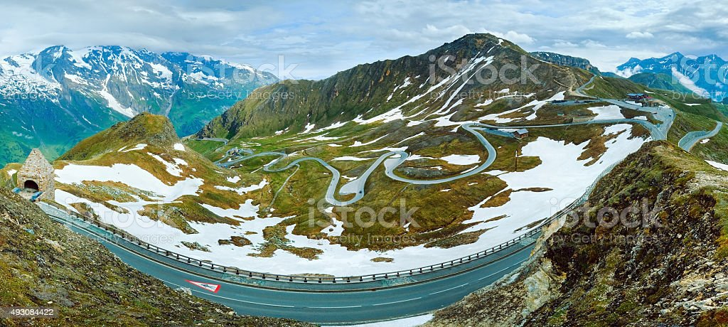 Grossglockner High Alpine Road stock photo