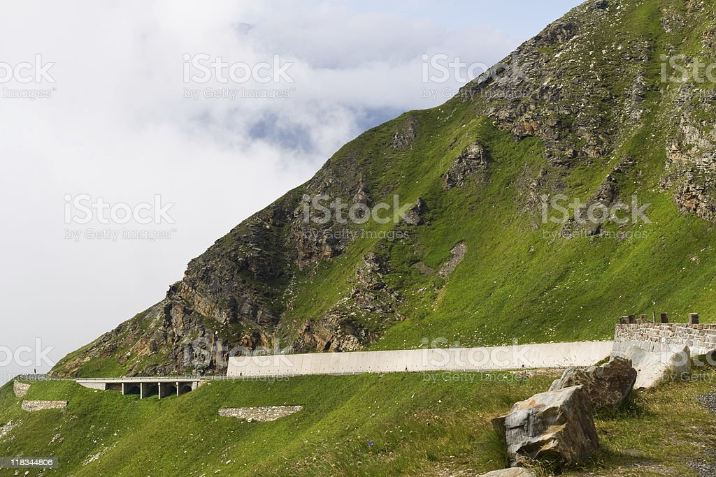Grossglockner mountain pass royalty-free stock photo