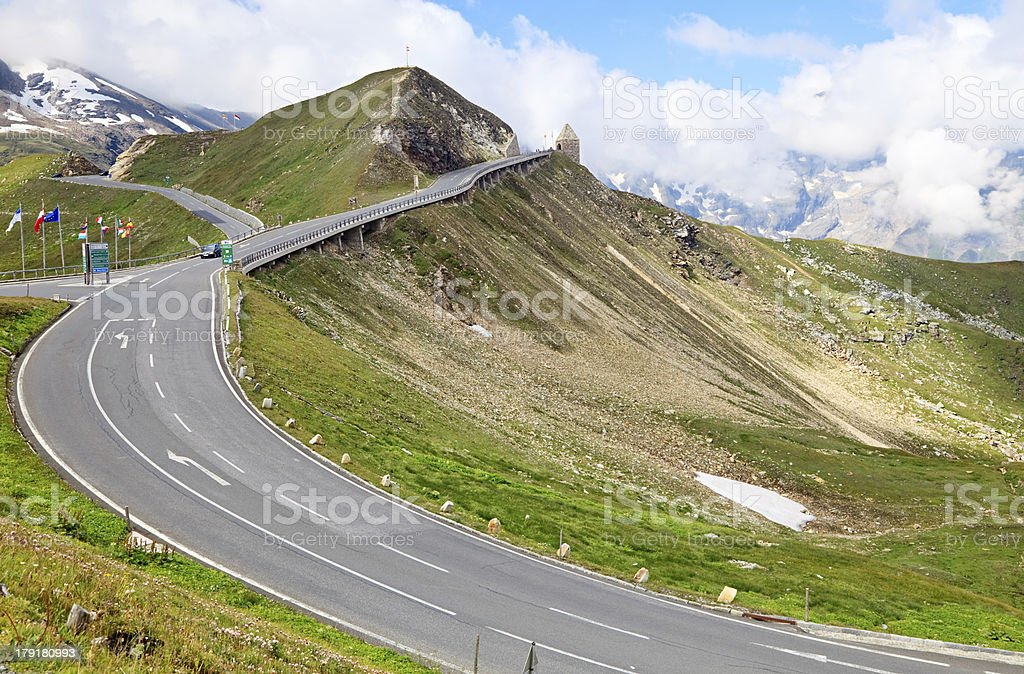Grossglockner Mountain Road, Austria royalty-free stock photo
