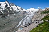 Grossglockner Pasterze glacier in Austrian Alps