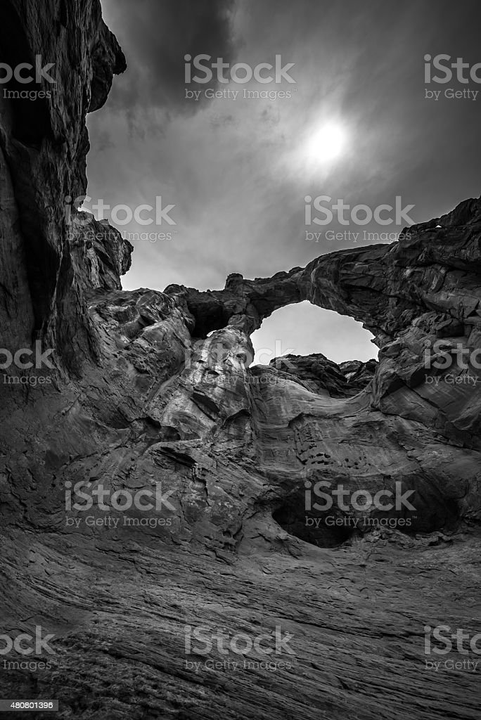 Grosvenor Arch stock photo