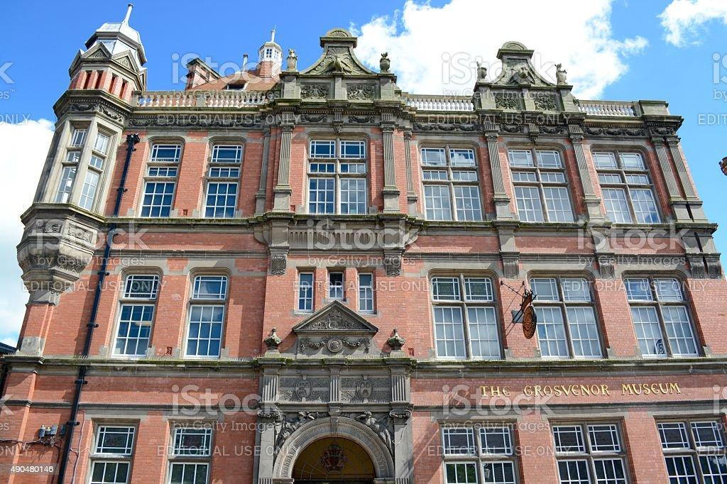 Grosvenor Museum stock photo