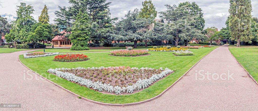 Grosvenor Park Chester. stock photo