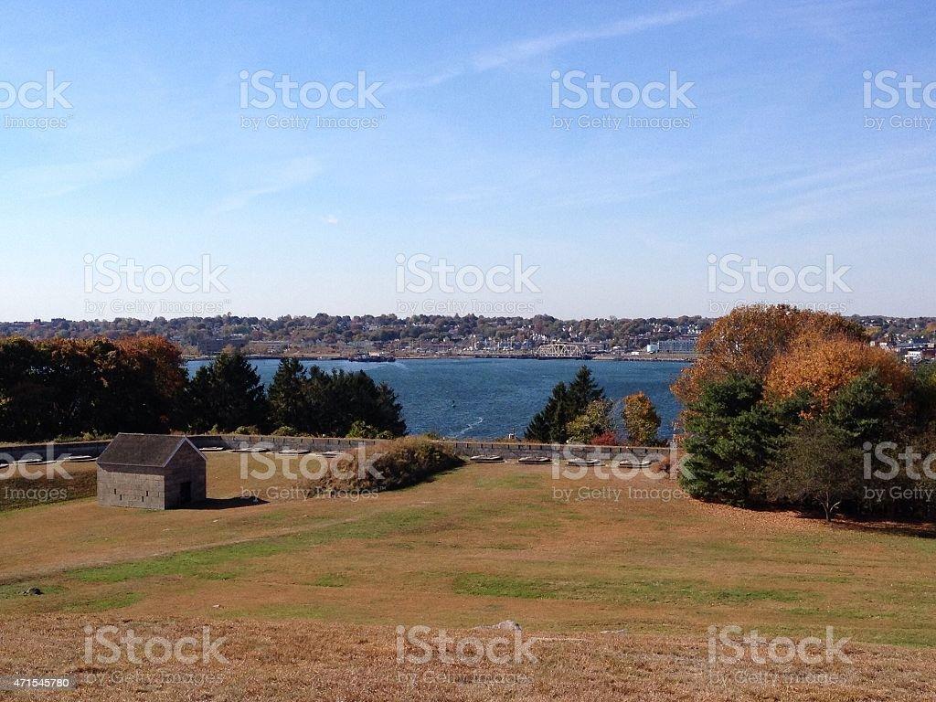 Groton, Connecticut stock photo