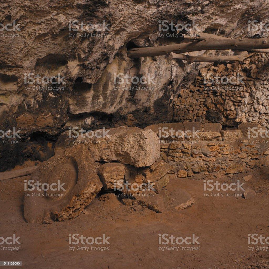 Grotta dell'Arma (Liguria, Italy) stock photo