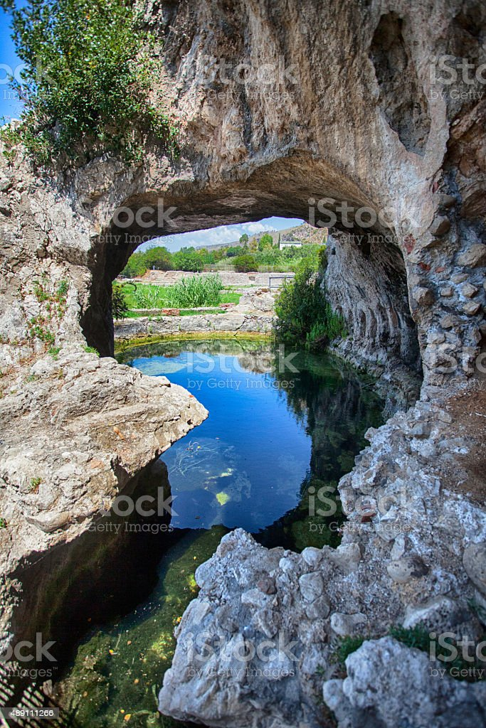 Grotta di Tberio stock photo