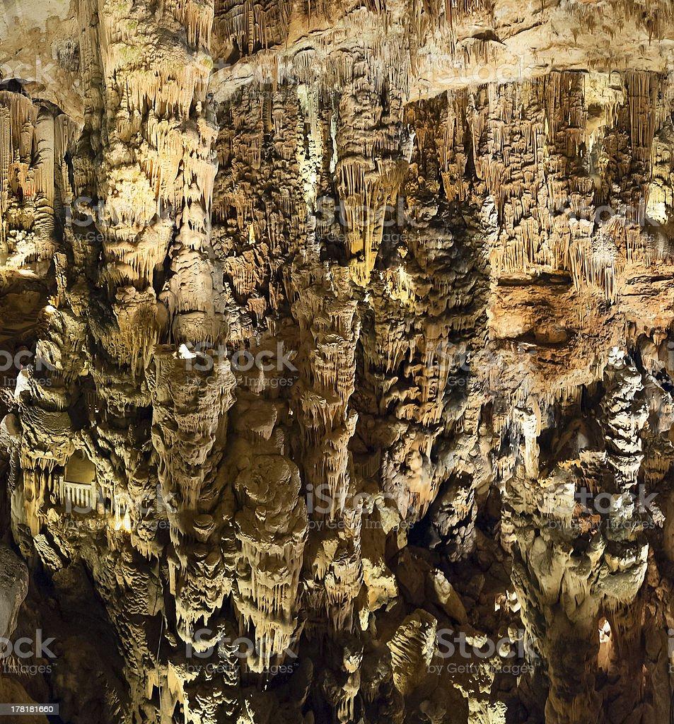 Grotte des Demoiselles royalty-free stock photo