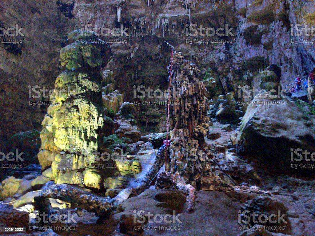 Grotte di Castellana, Puglia, Italy stock photo