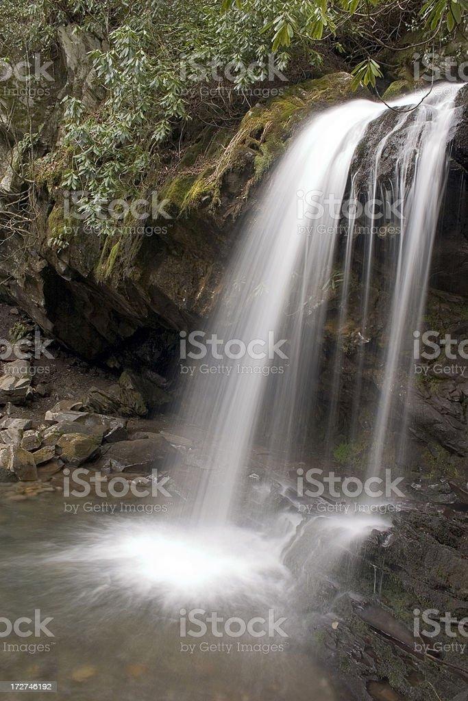 Grotto Falls royalty-free stock photo