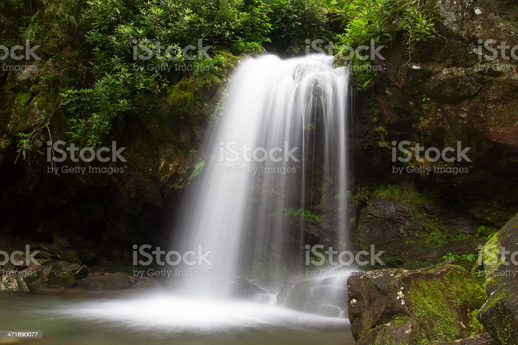 Grotto Falls stock photo