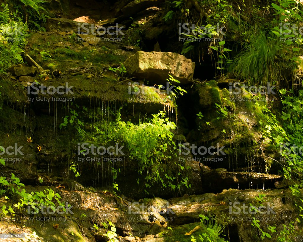 Grotto stock photo
