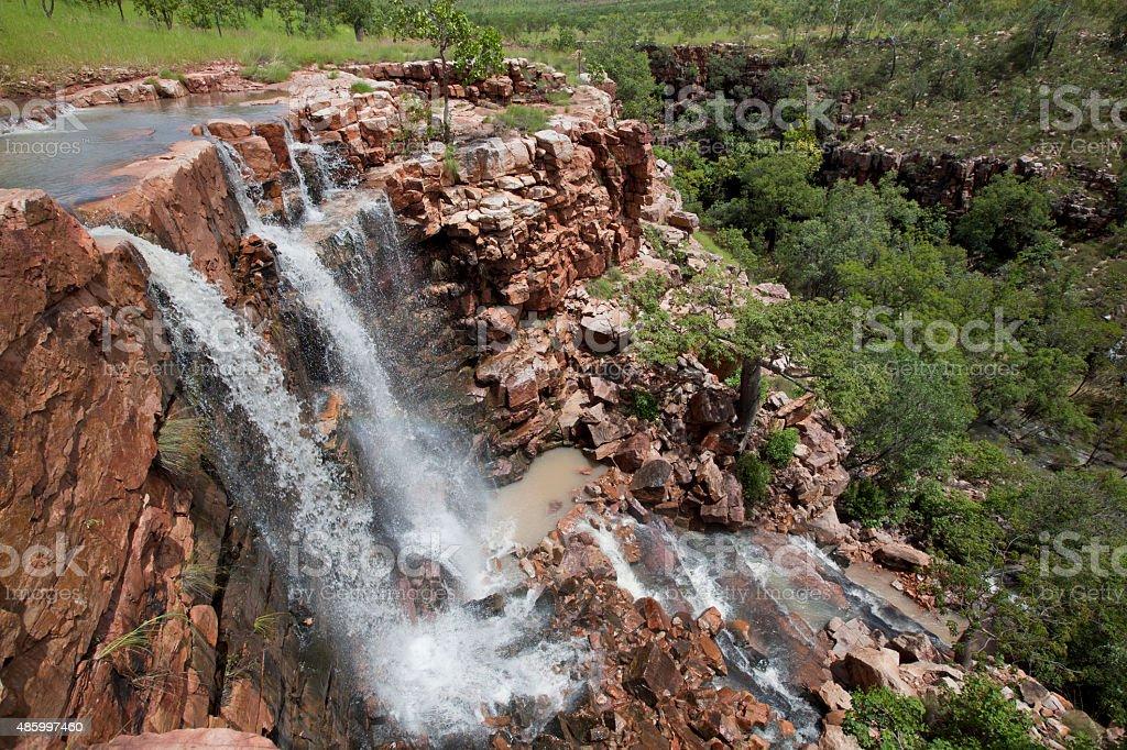 Grotto Waterfall stock photo