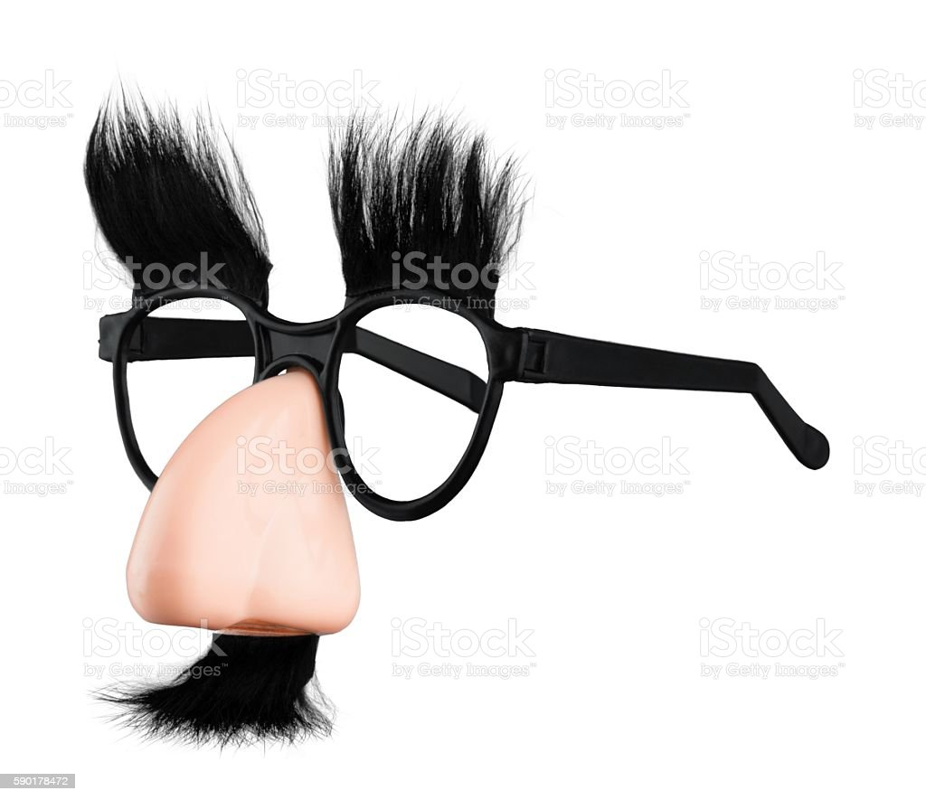 Groucho marx disguise stock photo