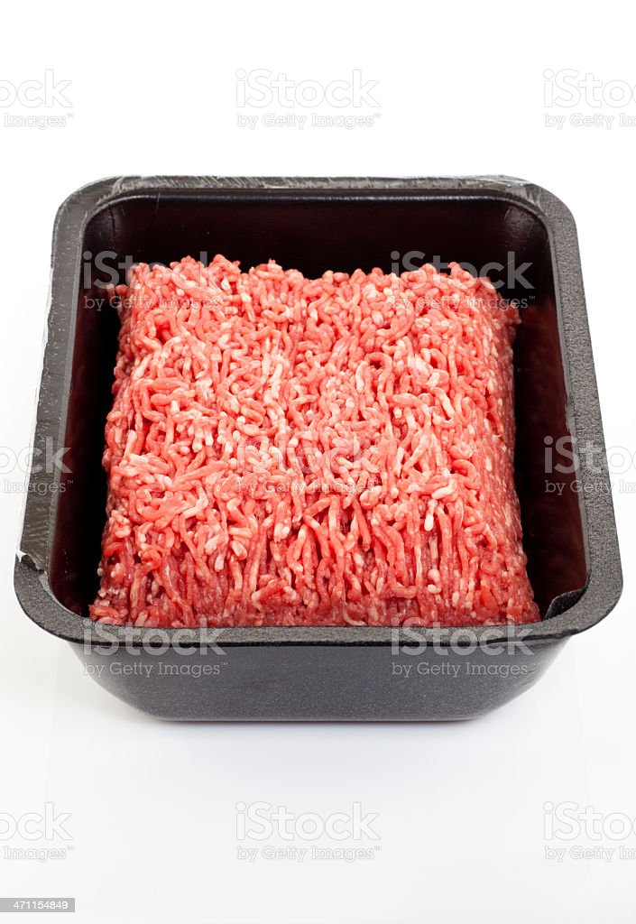 Ground beef royalty-free stock photo