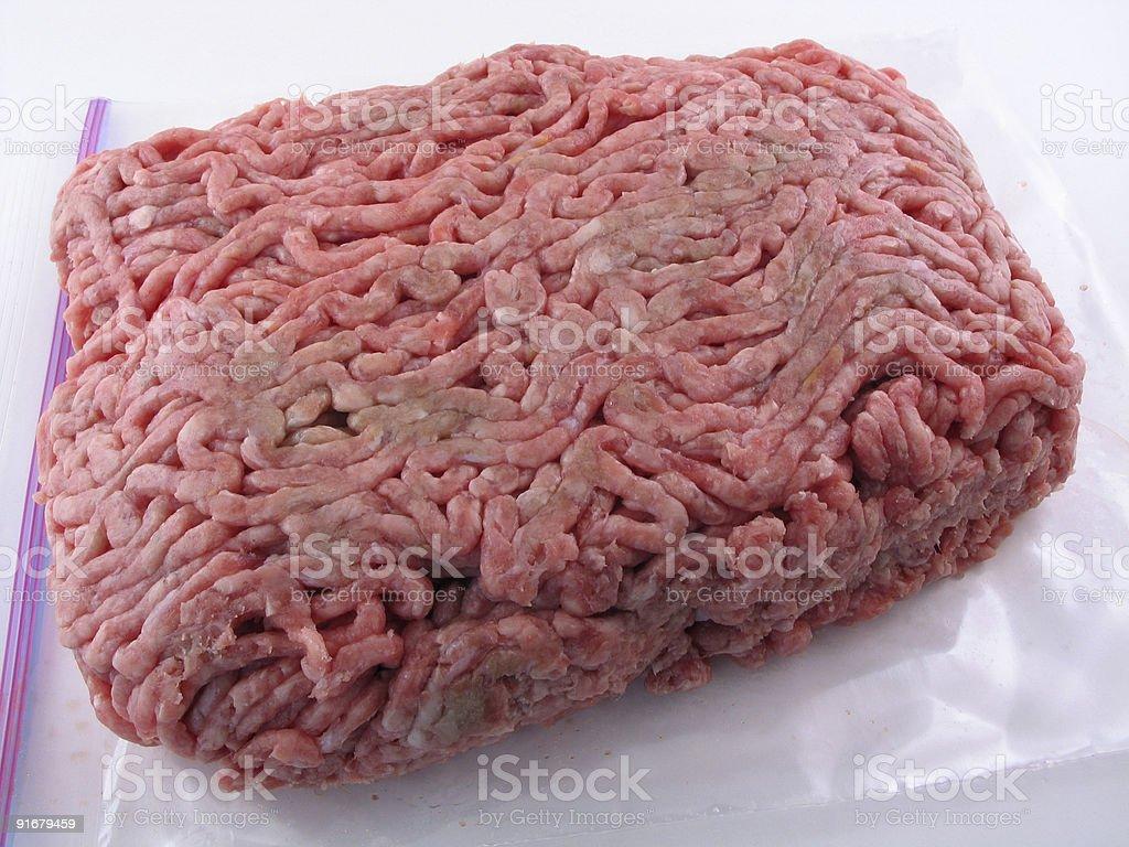 Ground Beef stock photo