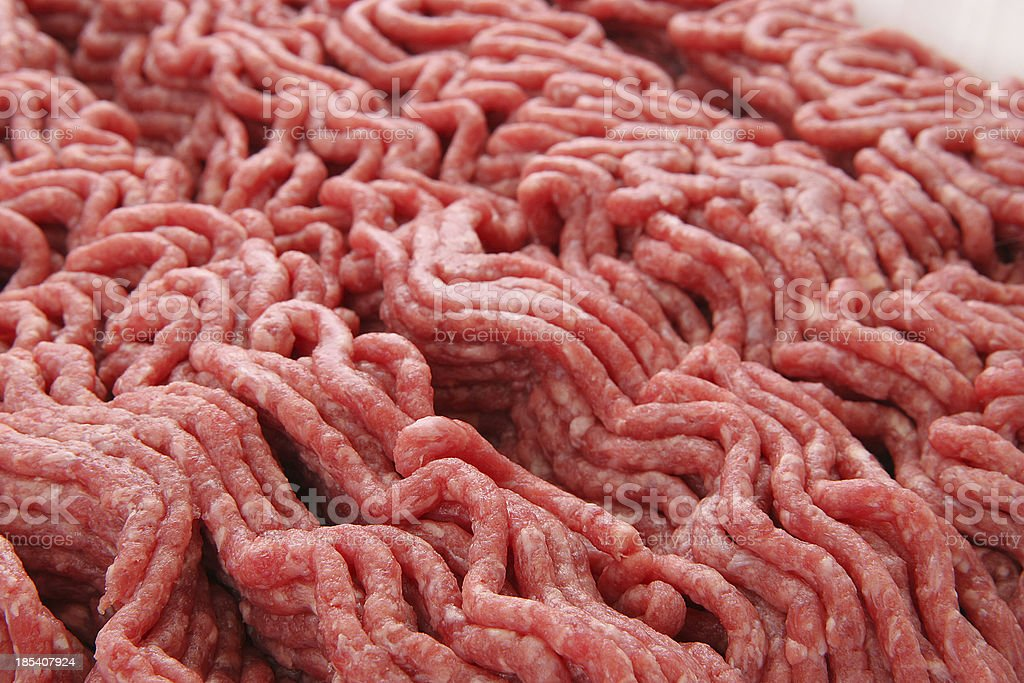 Ground Beef Texture -03 royalty-free stock photo