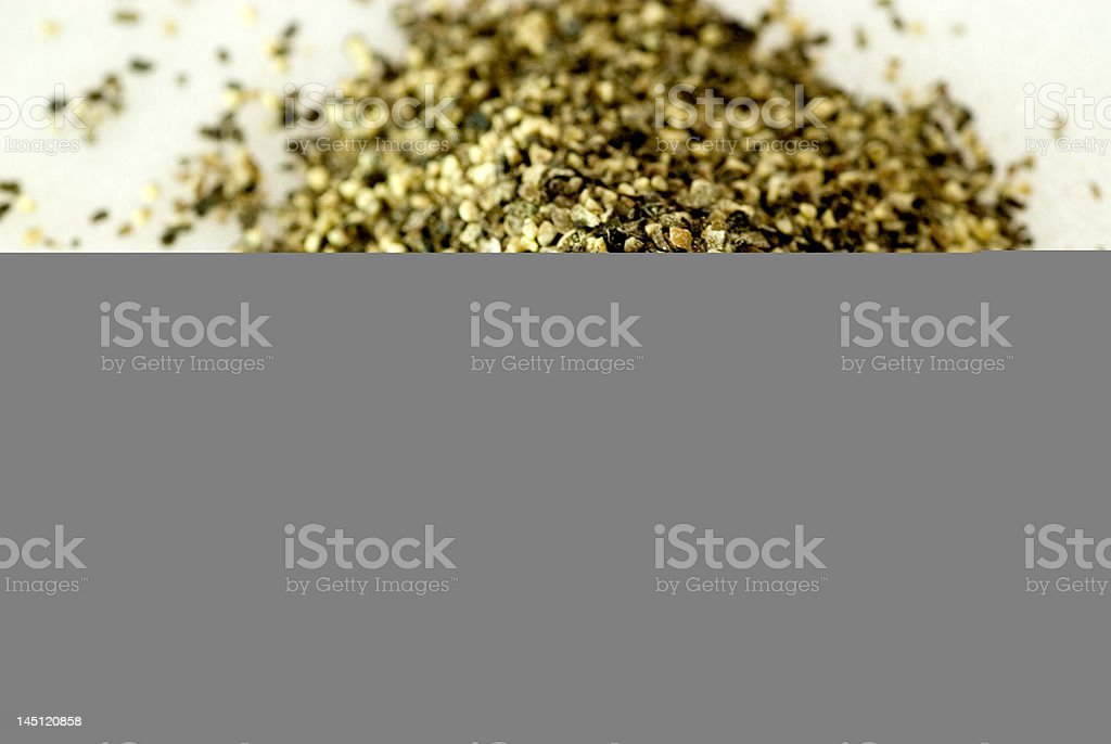 ground black pepper royalty-free stock photo
