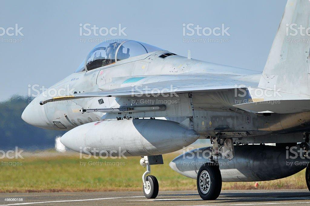 Ground fighter stock photo