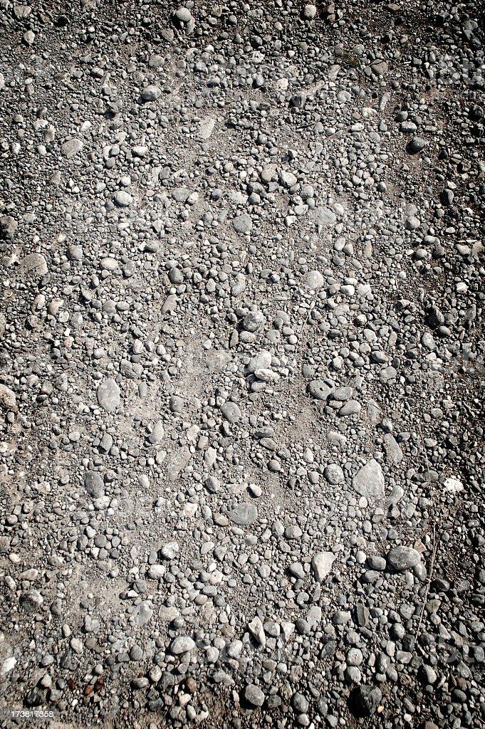 Ground gravel texture background pattern royalty-free stock photo