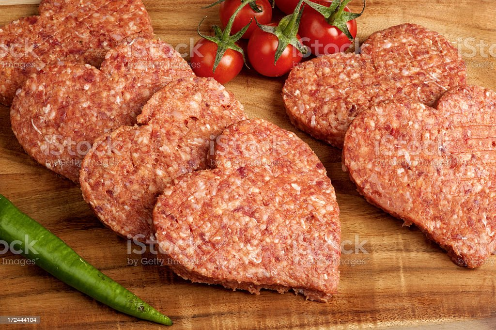 ground meat royalty-free stock photo