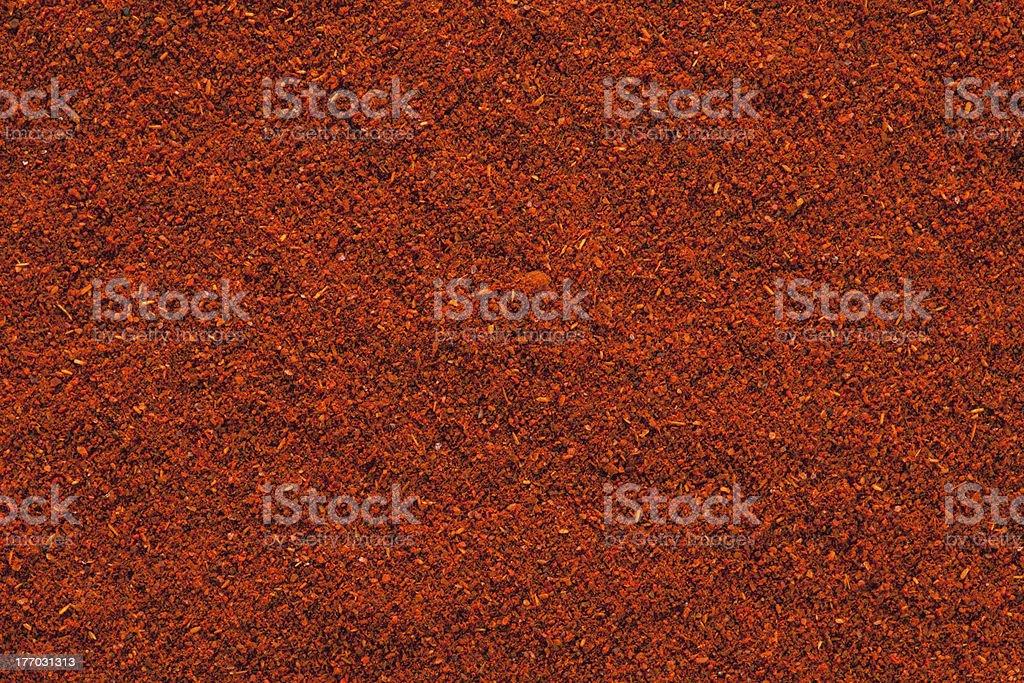 Ground Paprika background. stock photo