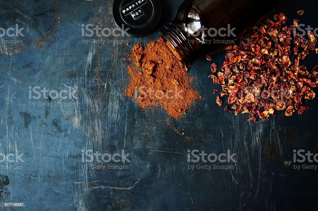 Ground Paprika stock photo