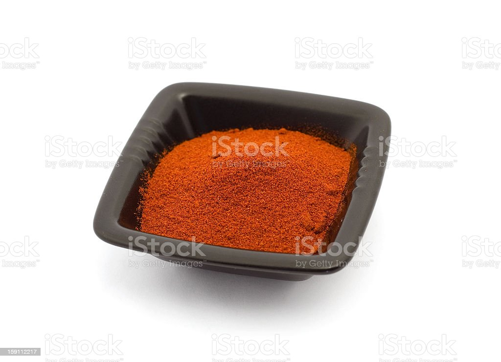 Ground red pepper stock photo