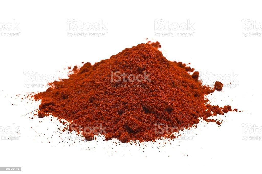 Ground Spice royalty-free stock photo