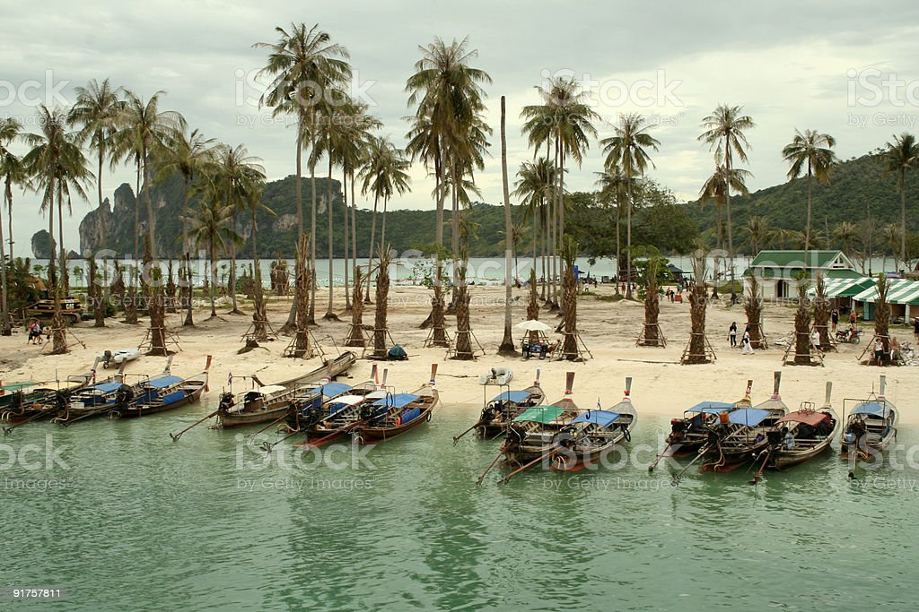 ground zero koh phi pi thailand royalty-free stock photo