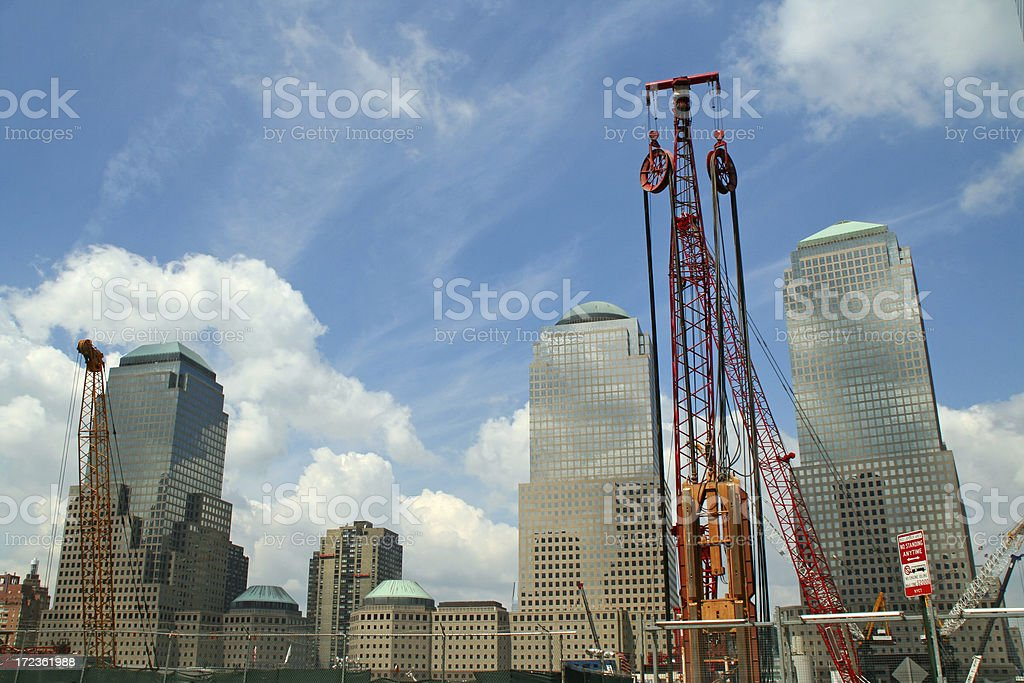 Ground Zero # 1 - New York royalty-free stock photo