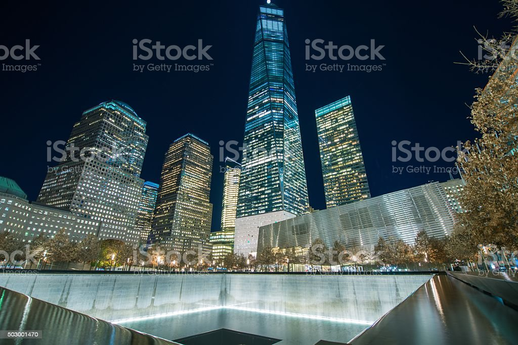 Ground Zero New York stock photo