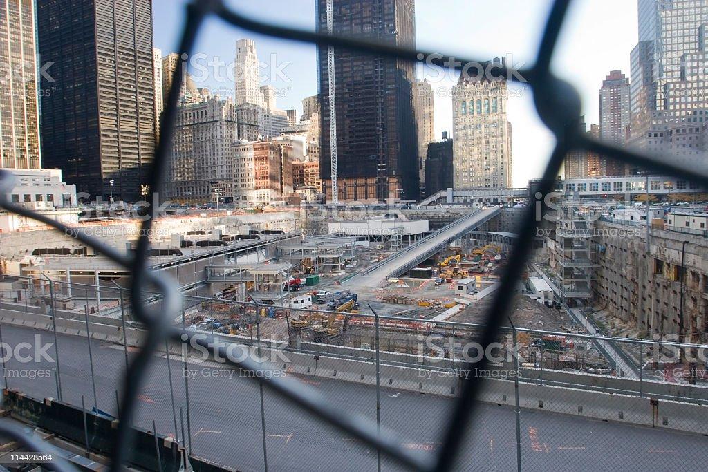 Ground zero royalty-free stock photo