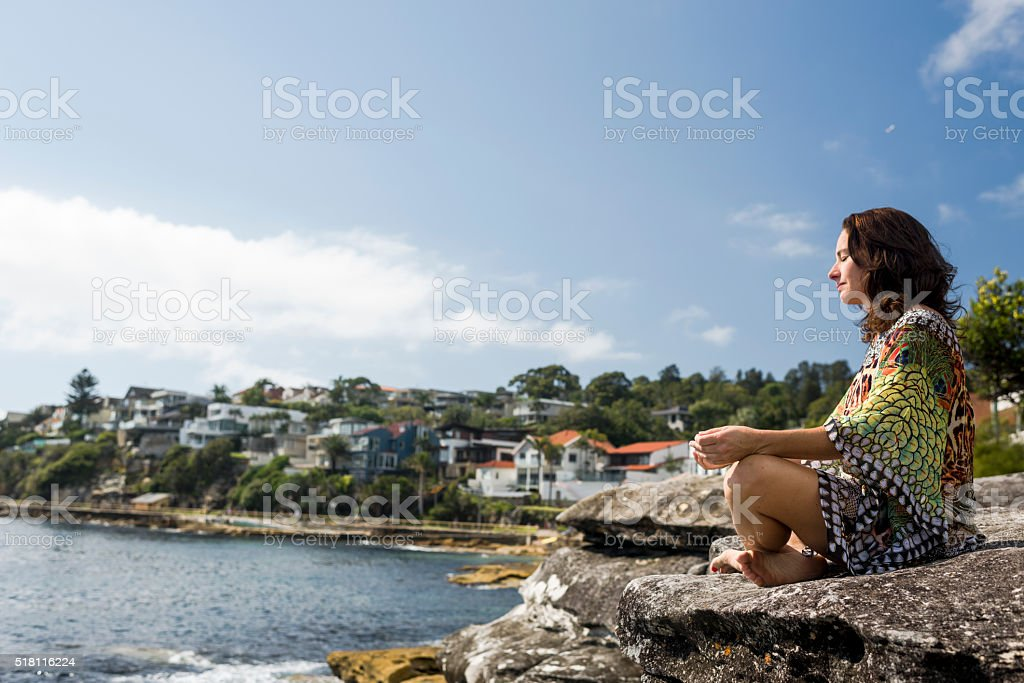 Grounded By Wellness stock photo