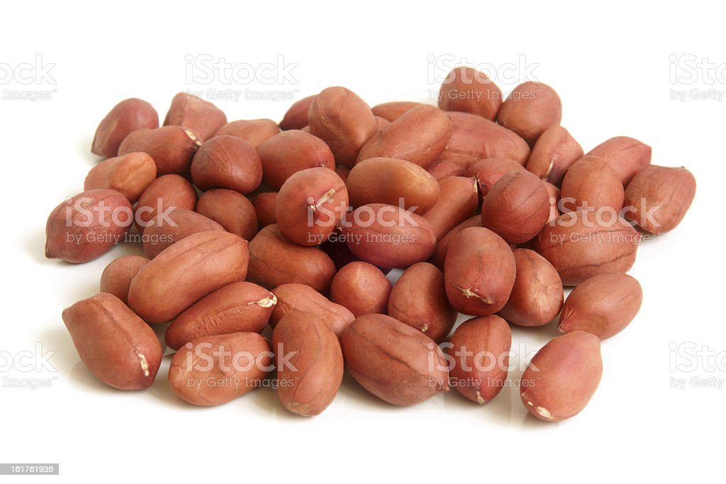 Groundnuts royalty-free stock photo