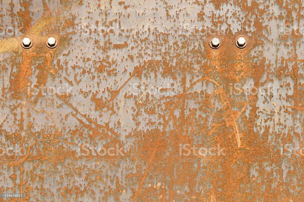 Grounge rust plats royalty-free stock photo