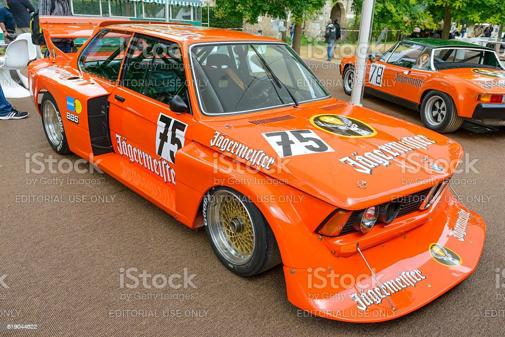 Bmw Group Jagermeister Racing Car Stock Photo Istock