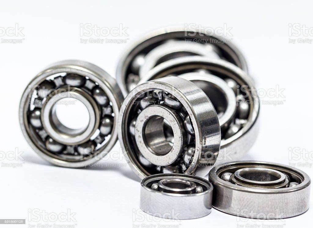 Group Ball bearing stock photo