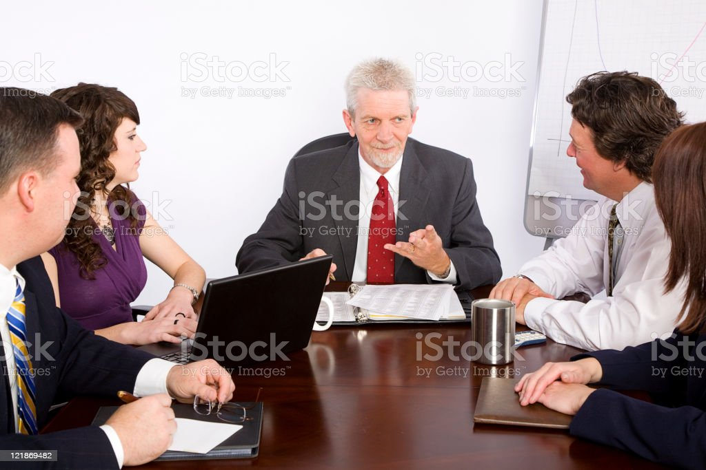 Group Business Meeting royalty-free stock photo