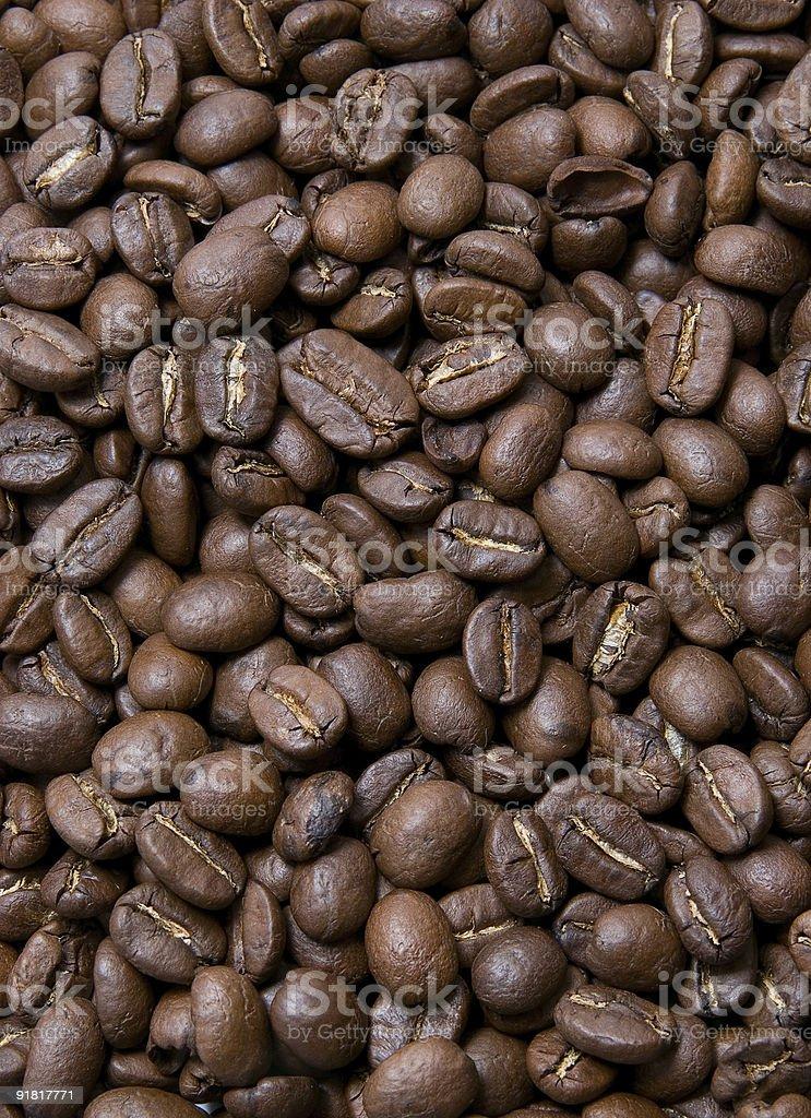 Groupe de grains de café photo libre de droits