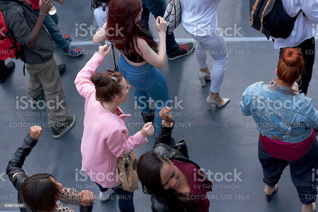 Group Dance stock photo