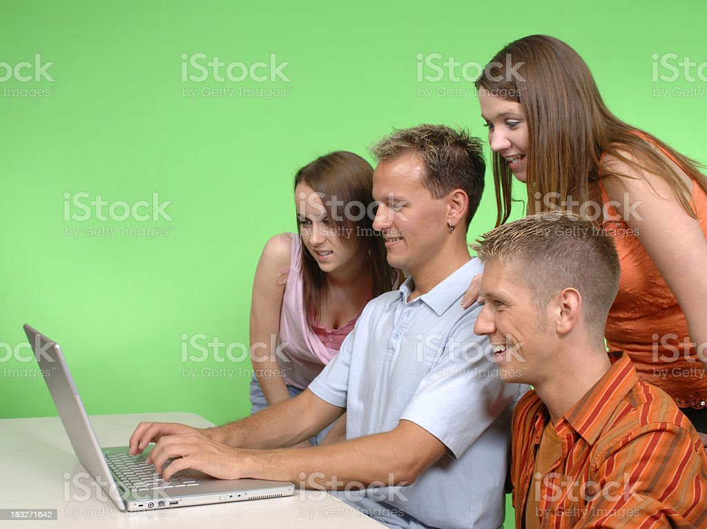 Group Effort royalty-free stock photo
