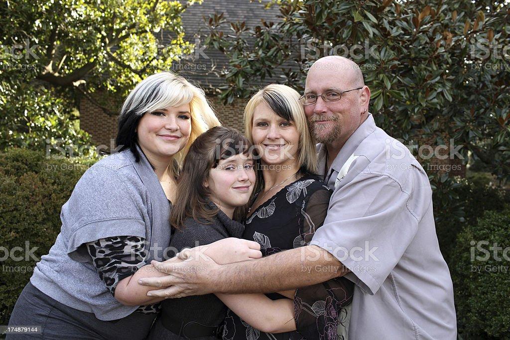 Group Hug royalty-free stock photo